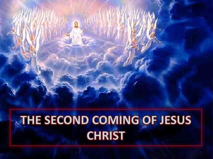 THE SECOND COMING OF JESUS CHRIST<br />