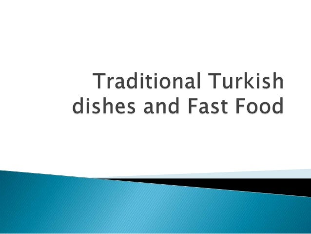 8 traditional turkish dishes and fast f