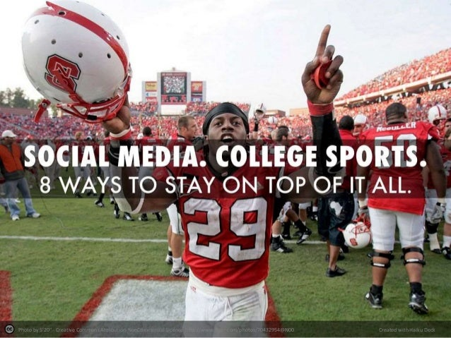 8 Ways to Get a Handle on College Sports Social Media.