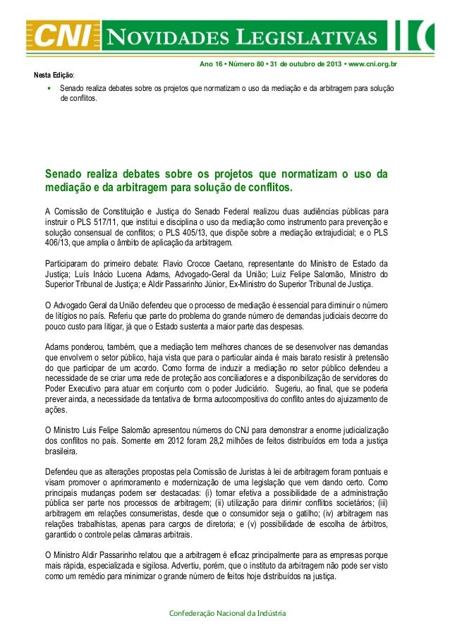 Novidades Legislativas Nº80 | 31/10/2013