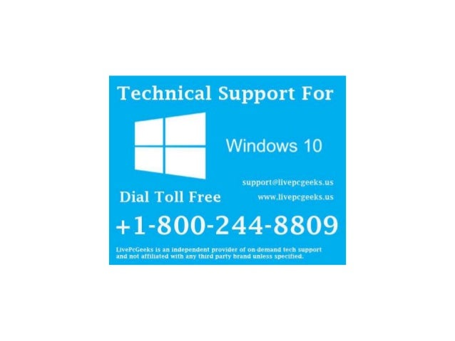 1-800-244-8809 Windows 10 Technical Support Phone Number