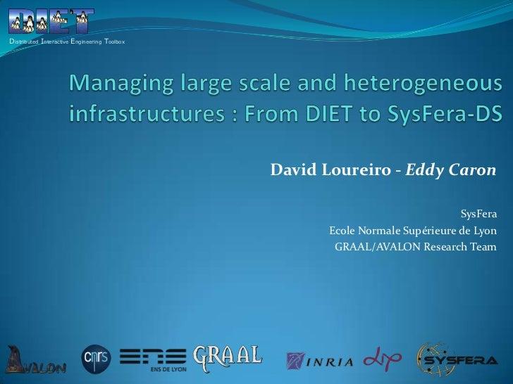 Distributed Interactive Engineering Toolbox                                              David Loureiro - Eddy Caron      ...