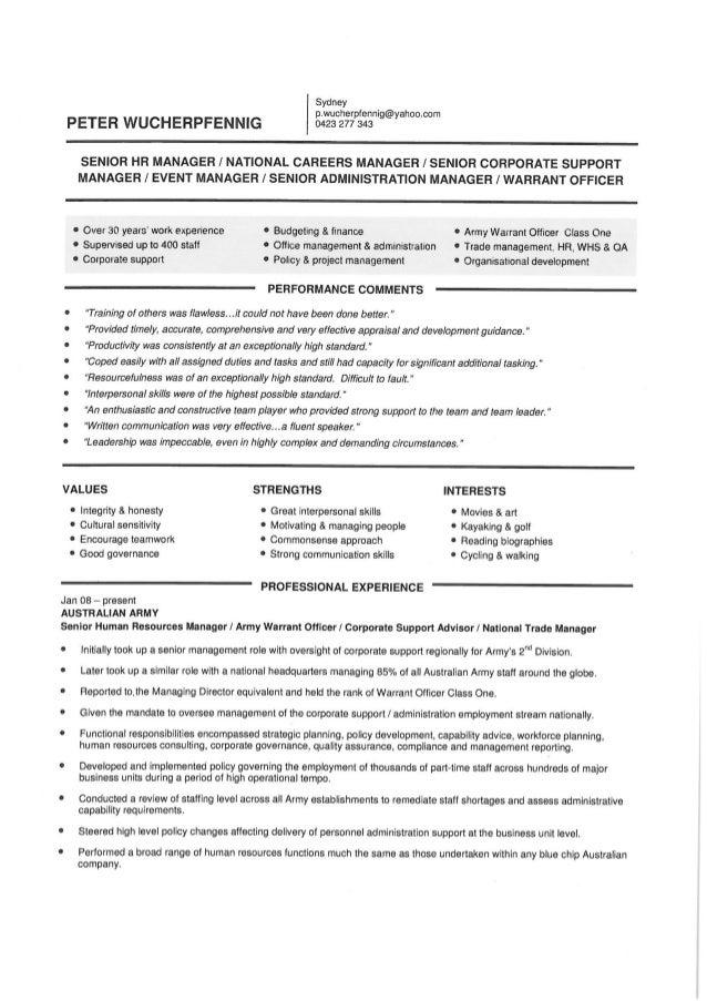 Peter Wucherpfennig Resume