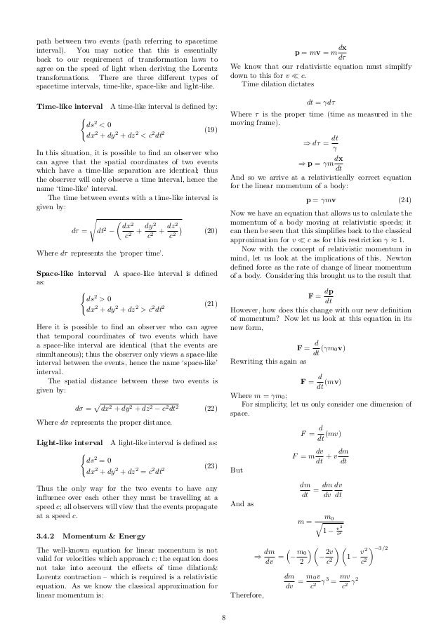 Dos this Physics EPQ question make sense?