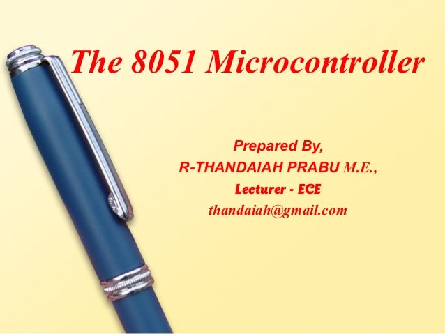 8051 microcontroller notes continuous