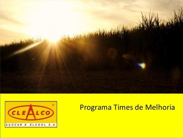 Programa Times de Melhoria