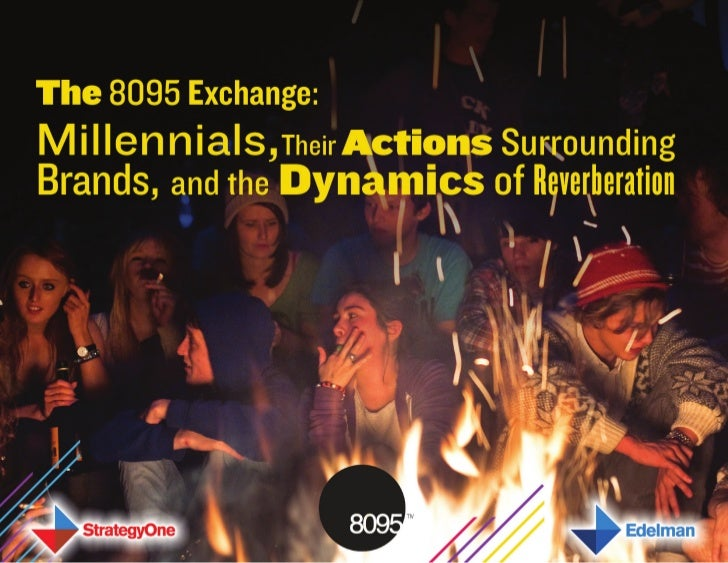 The 8095 Exchange: Millennials, Their Actions Surrounding Brands, and the Dynamics of Reverberation