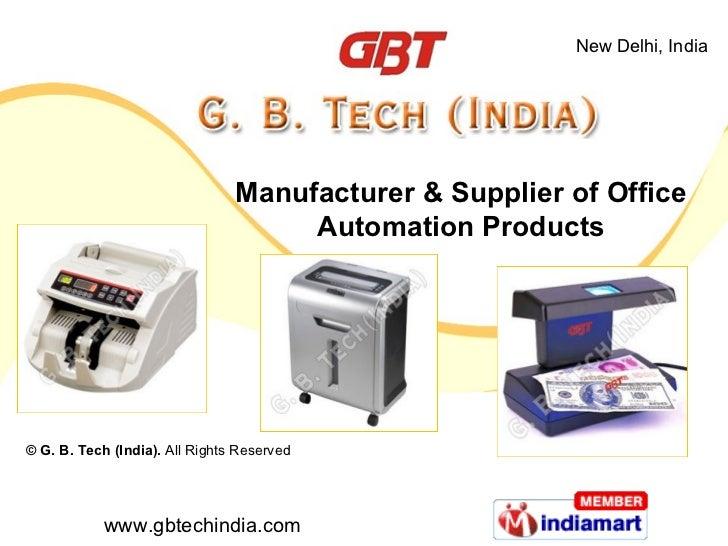 G. B. Tech Delhi  India