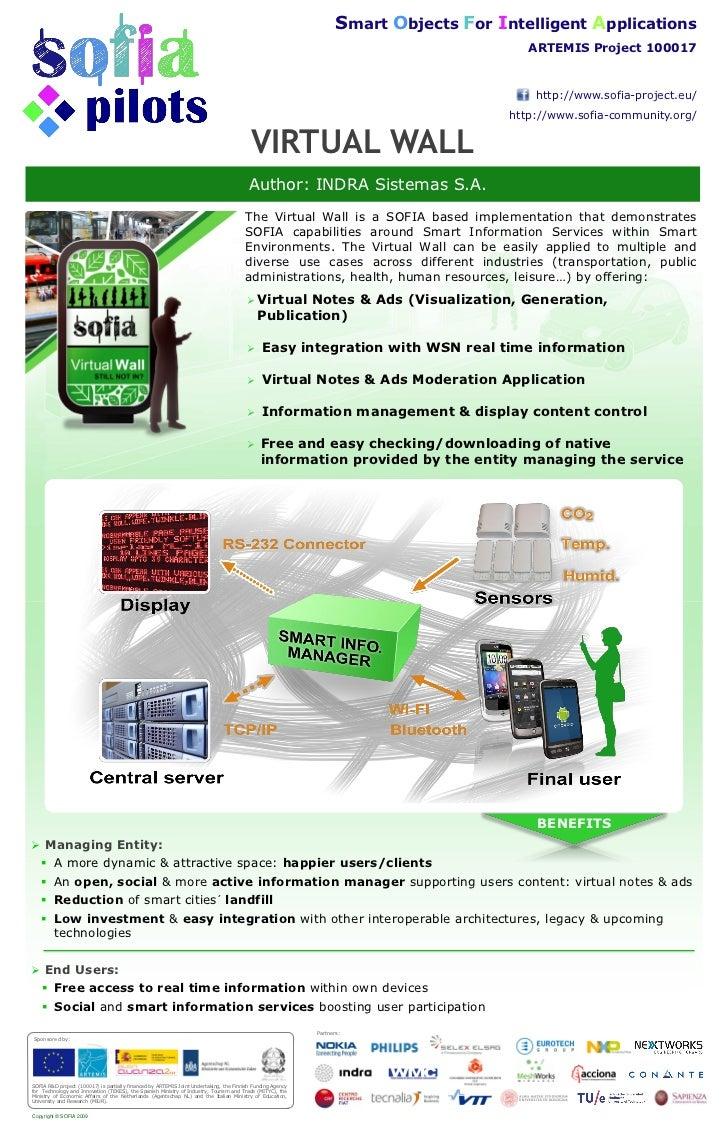 SOFIA INDRA ATC2011 Virtual Wall Poster