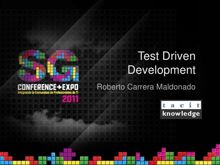 Test Driven Development: Un acercamiento práctico con JUnit y Mockito