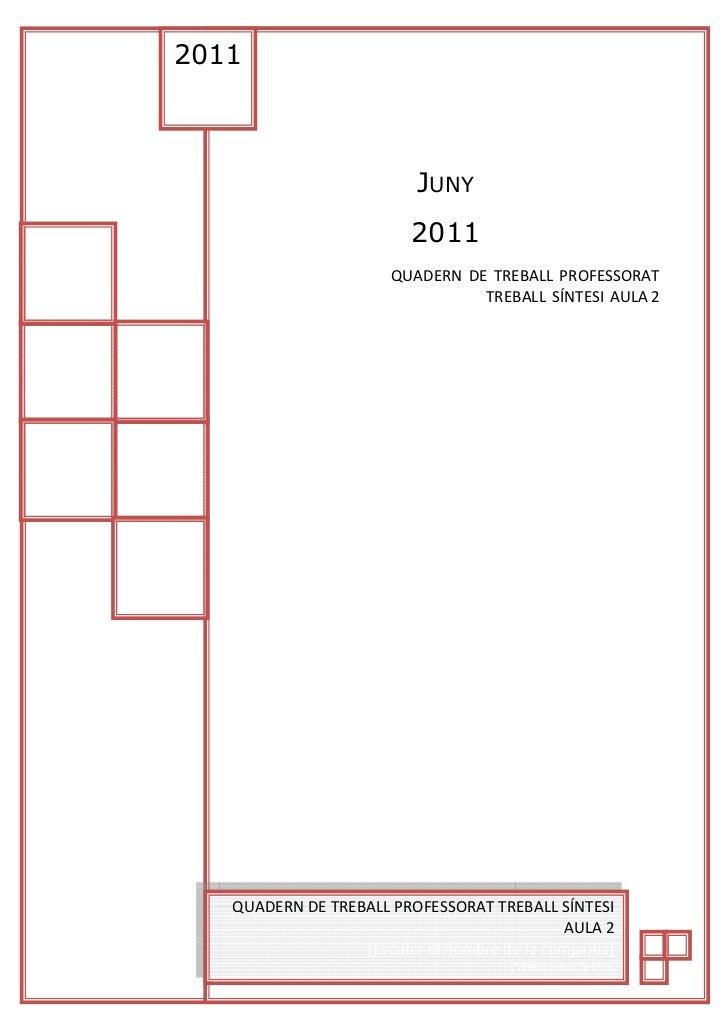 Copia de Quadern de teball TS1 Professorat 2