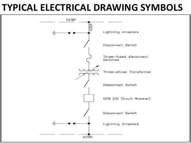 electrical circuit breaker symbol schematic circuit
