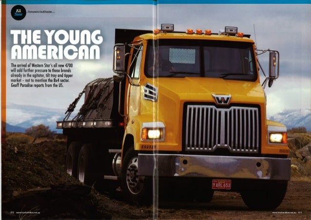 Western Star New Model-Truck & Bus Magazine Jan 2013