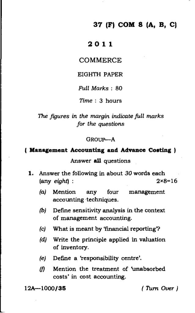 Previous year Question paper For Guahati University