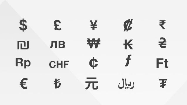 Currency Symbols Converter Forex Trading