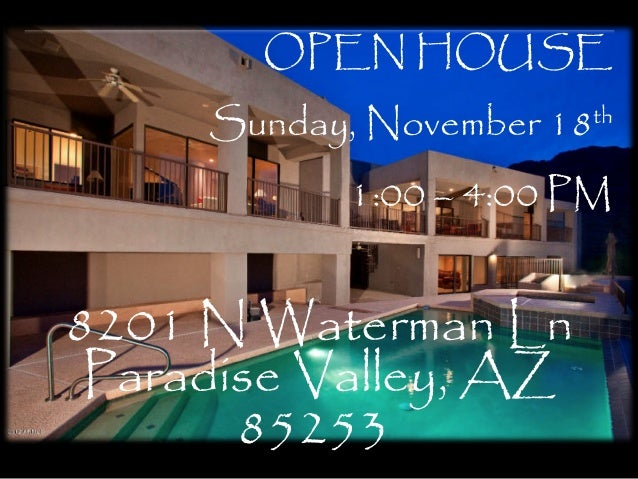 8201 N Waterman LN Paradise Valley, AZ 85253