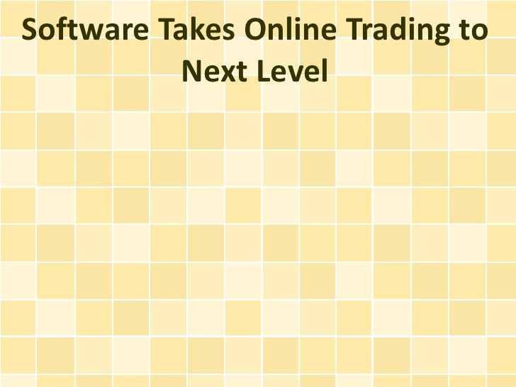 Software Takes Online Trading to Next Level