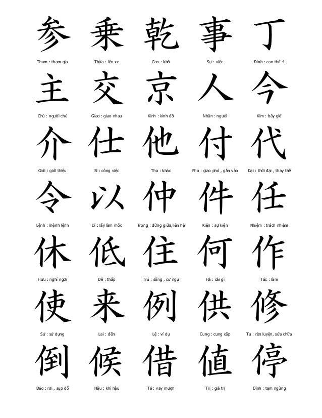Học Hán Nôm cơ bản 825-ch-hn-thng-dng-1-638