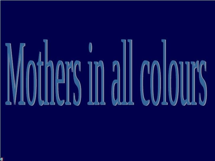82601 Moeders In Kleur