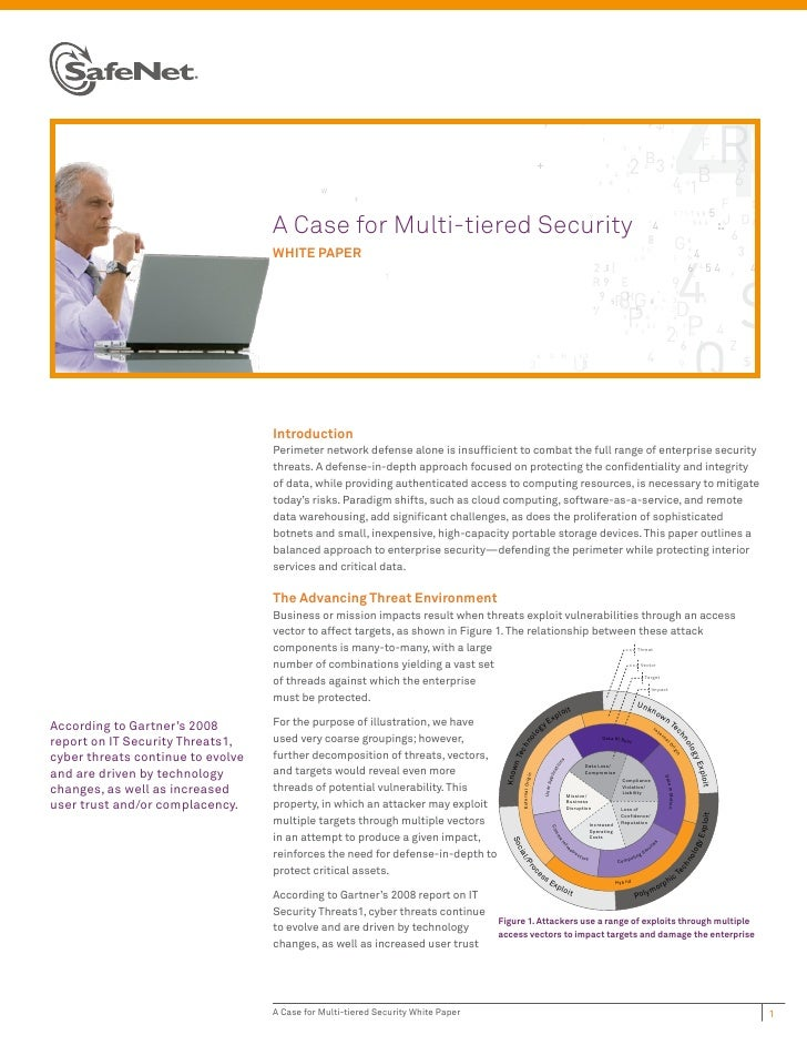 A Case for Multi-tiered Security                                   WHITE PAPER                                   Introduct...