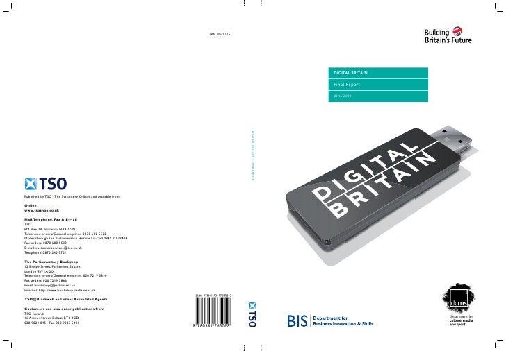 Digital Britain - Final report