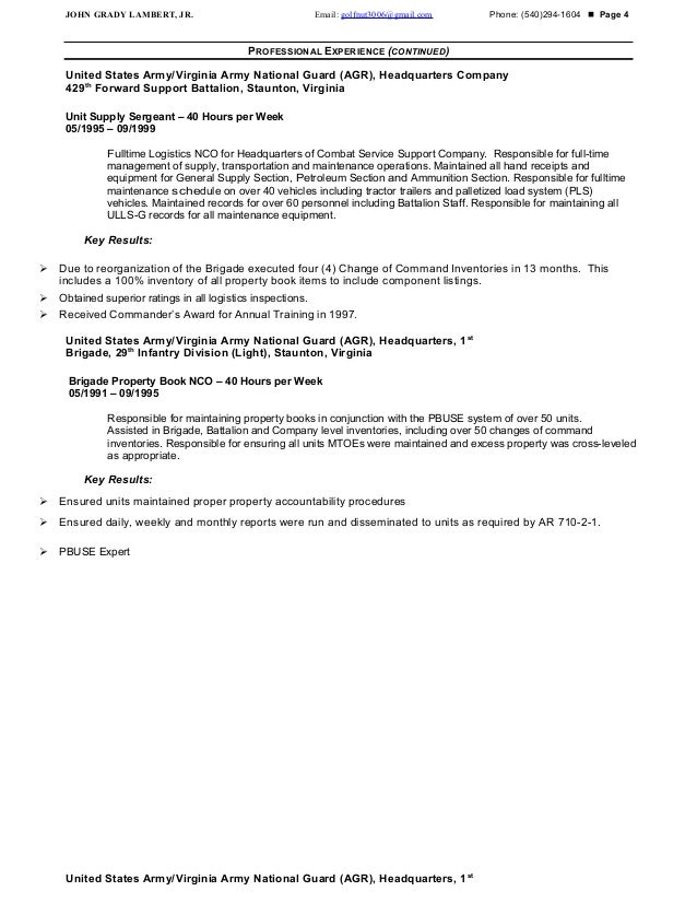 lambert resume 2