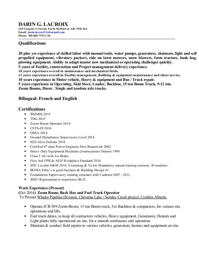qualification resume how to write resume qualifications summary ...