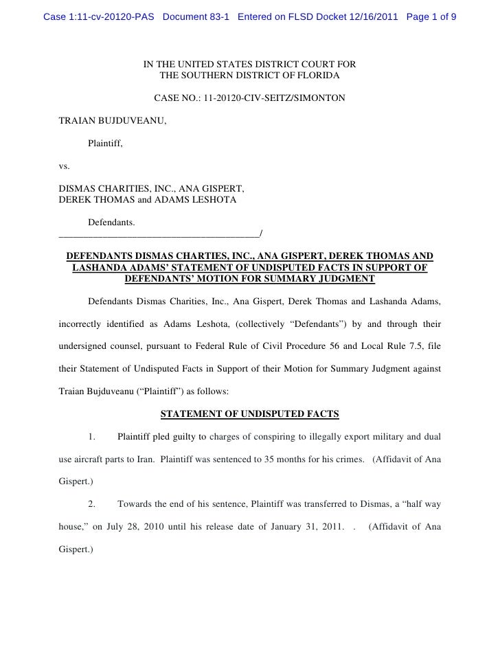 Case 1:11-cv-20120-PAS Document 83-1 Entered on FLSD Docket 12/16/2011 Page 1 of 9                        IN THE UNITED ST...