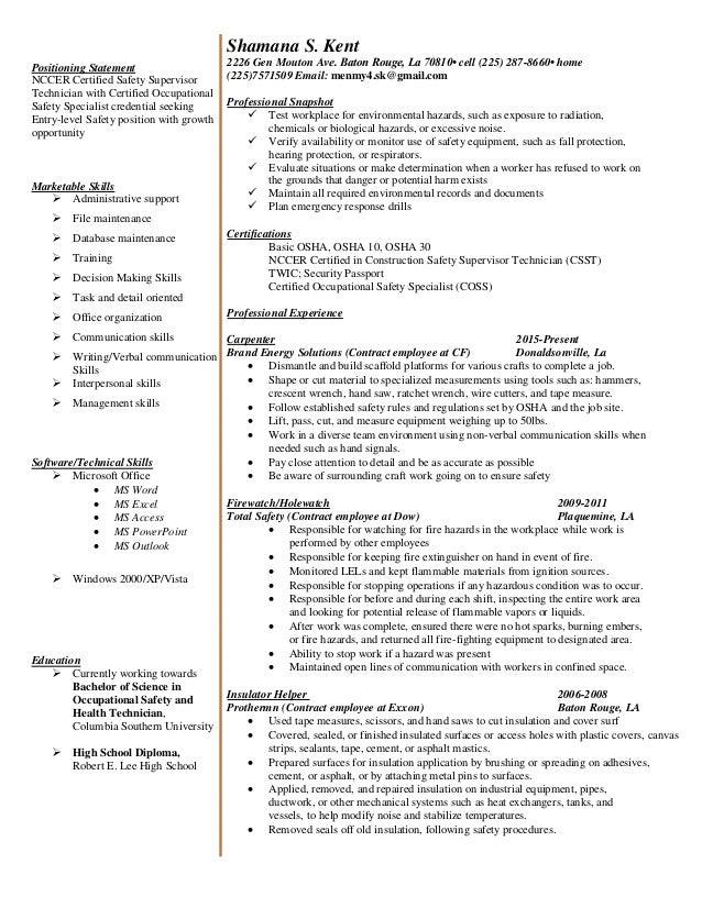 shamana resume