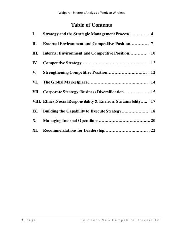 verizon strategic analysis And strategic swot analysis review sector publishing intelligence limited corporate strategy 20 verizon communications inc verizon communications inc (vz) - financial and strategic swot analysis review option 1.