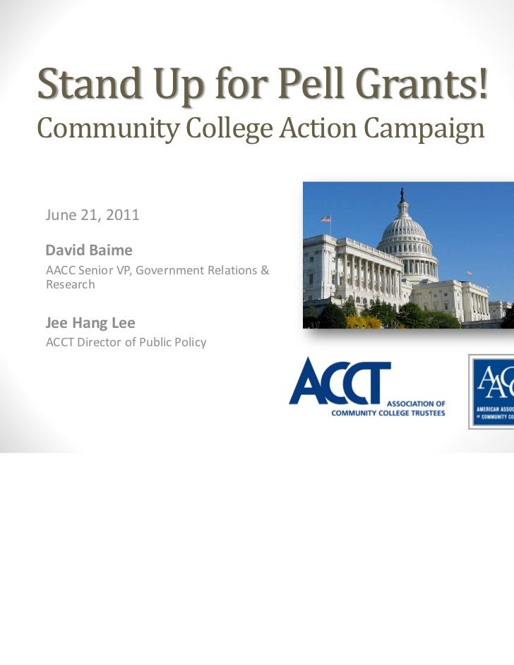 June21 Stand Up for Pell Grants Webinar (AACC-ACCT)