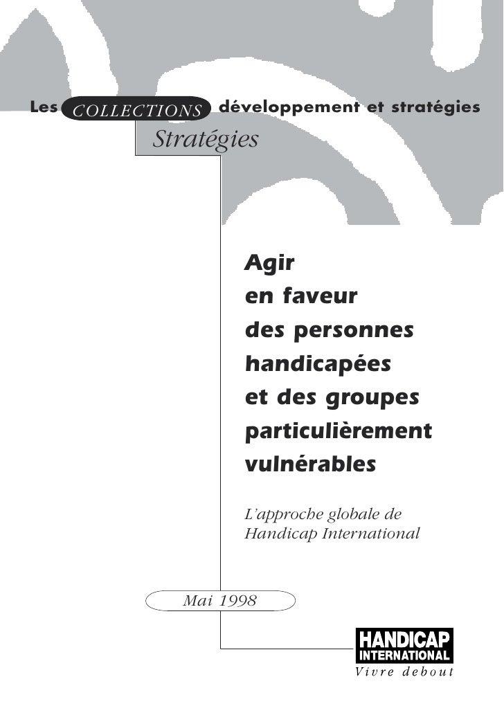 Les COLLECTIONS   développement et stratégies            Stratégies                        Agir                     en fav...