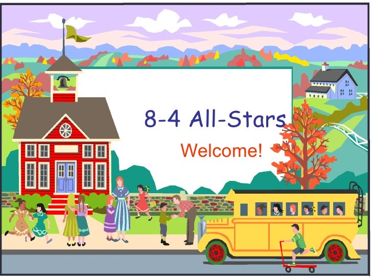 8-4 All-Stars Welcome!