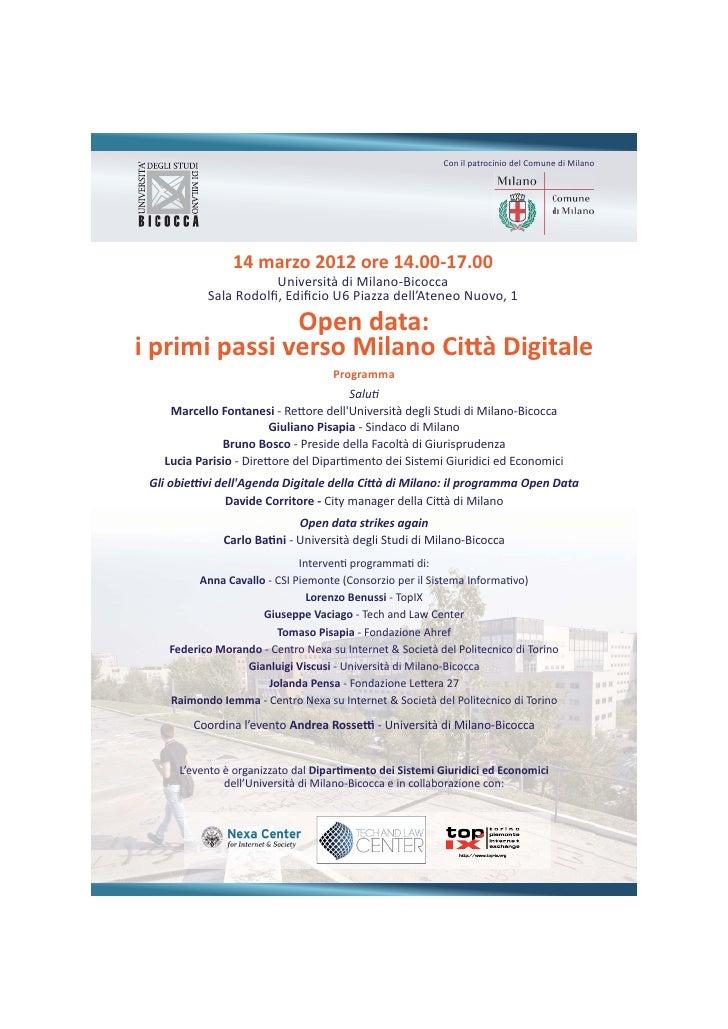84375255 open-data-i-primi-passi-verso-milano-citta-digitale
