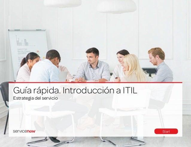 Estrategia del servicio Guía rápida. Introducción a ITIL Start