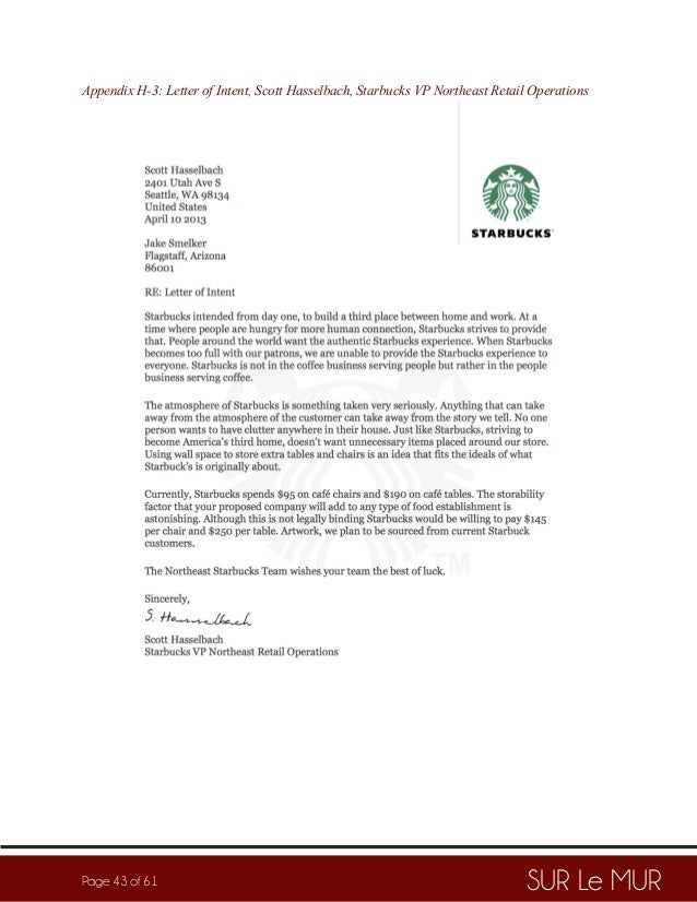 Starbucks business plan pdf