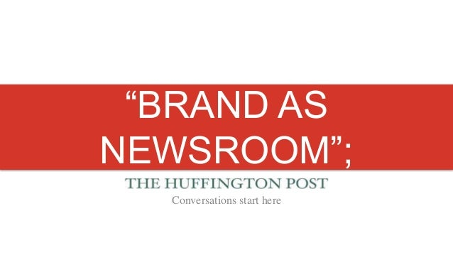 HuffPo at DPS: At the Pace of Twitter