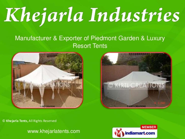 Khejarla Tents Rajasthan India