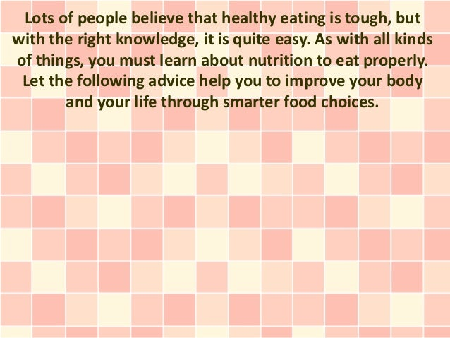 Tips For Transitioning To A Healthy, Nutritious Lifestyle!