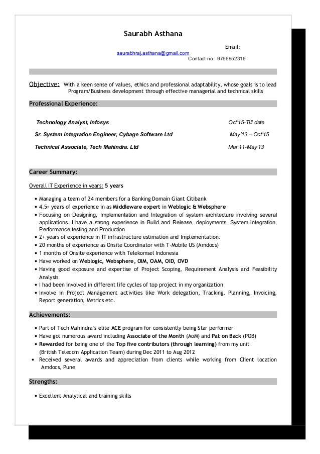 saurabh asthana resume