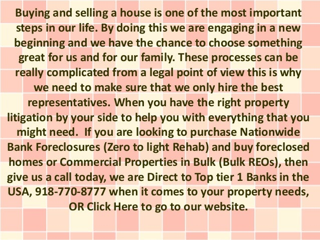 Buying and selling a house is one of the most important   steps in our life. By doing this we are engaging in a new  begin...