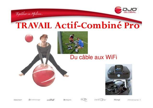 TravailTravail AActifctif--CCombinéombiné PProro Du câble aux WiFi 1 Du câble aux WiFi