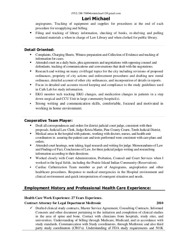 Health Insurance Qa Resume ... pacer insertions and; 3.