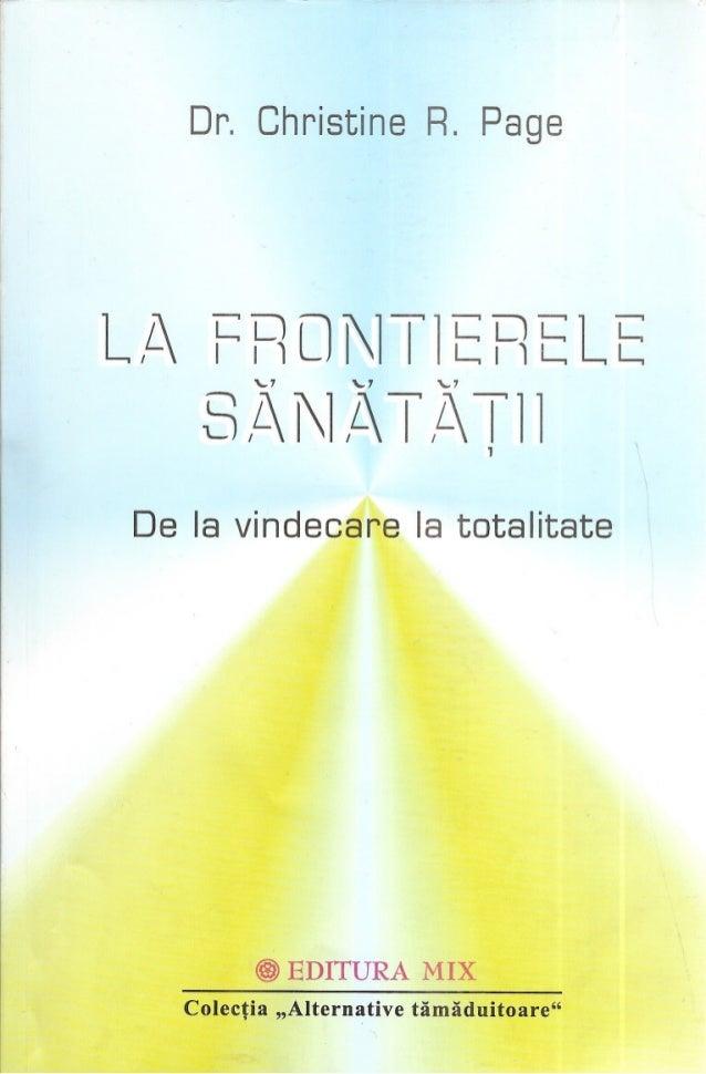 85853188 christine-page-la-frontierele-sanatatii
