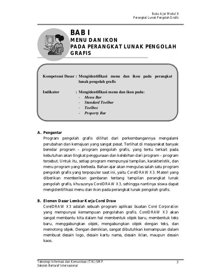 Buku Ajar Modul 9                                                        Perangkat Lunak Pengolah Grafis                  ...