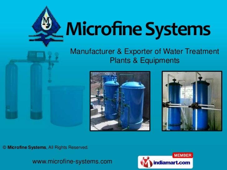 Microfine Systems Maharashtra  India