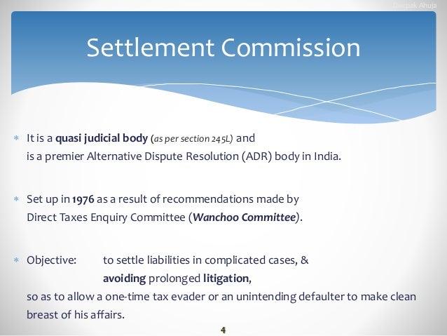 quasi judicial bodies in india pdf