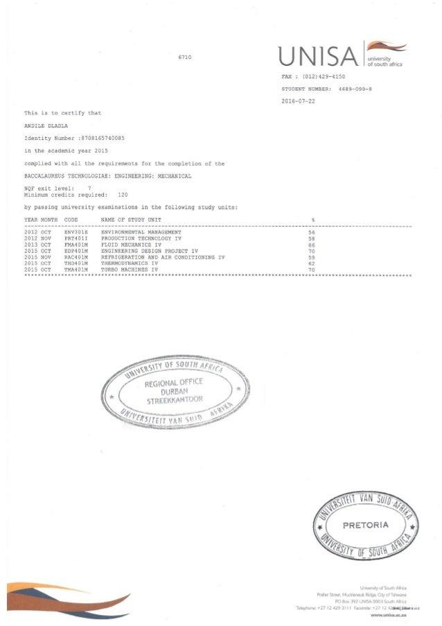 BTECH MECH ENG ACADEMIC RECORD