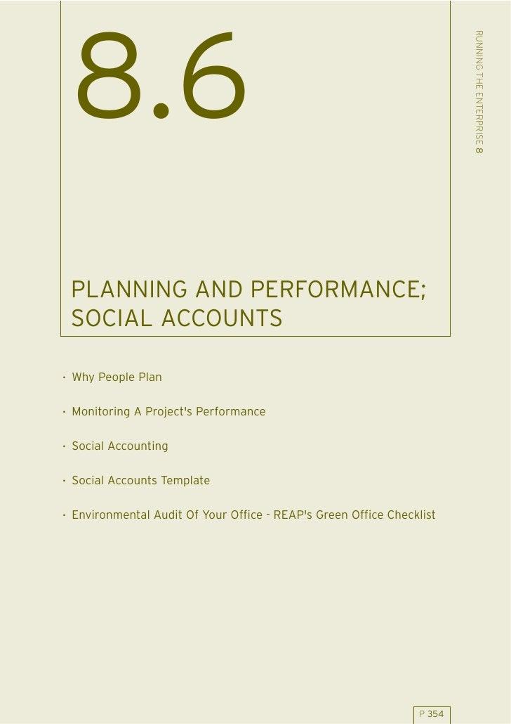 86 Planning Performance