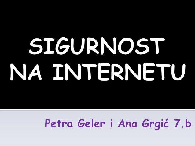871 sigurnost na internetu